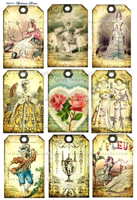 Collage Sheet by Debrina Pratt - DP66