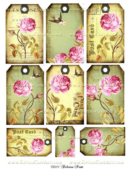 Collage Sheet by Debrina Pratt - DP70