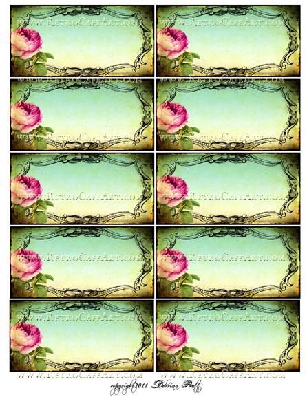 Collage Sheet by Debrina Pratt - DP71