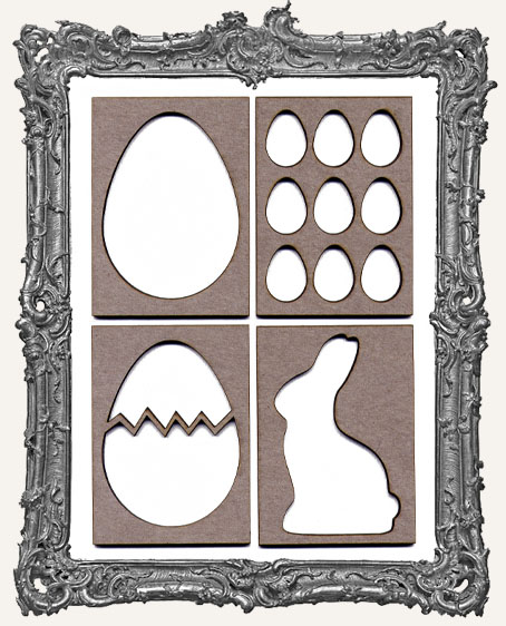 ATC Frame - Set of 4 EASTER FRAMES