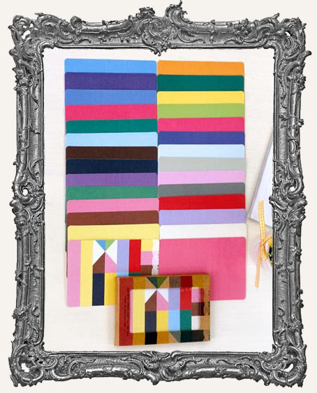 Fabric Sticker Set - 28 Sheets