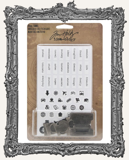 File Tabs - Tim Holtz Idea-ology