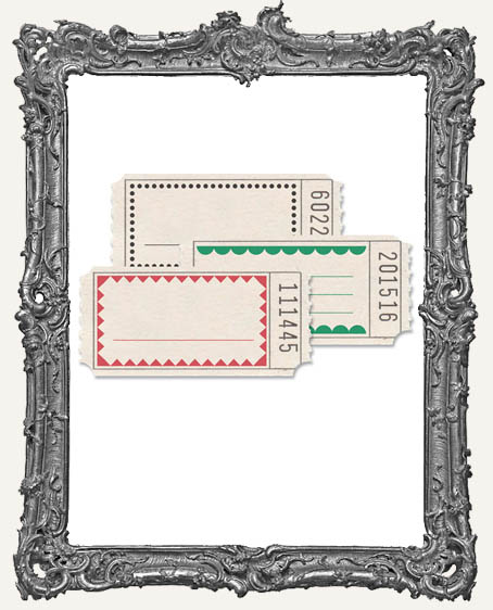 Jenni Bowlin Studio Printed Tickets Set of 18 - Frames