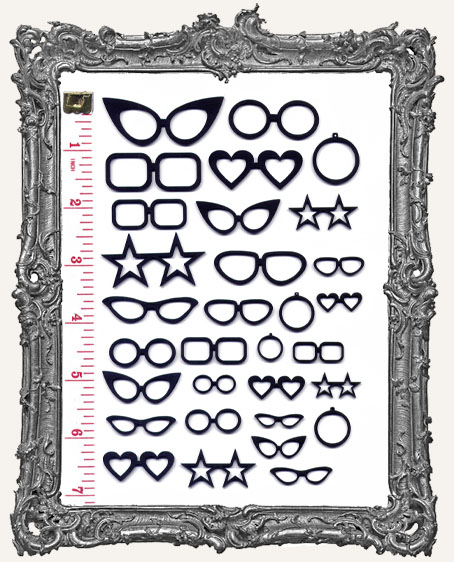 Collage Cut-Outs Accessory Line - Glasses and Monocles