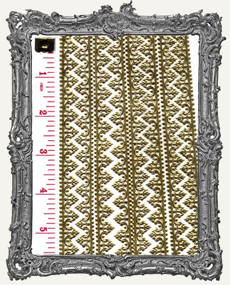 German Dresden Border Baroque GOLD 8 Strips