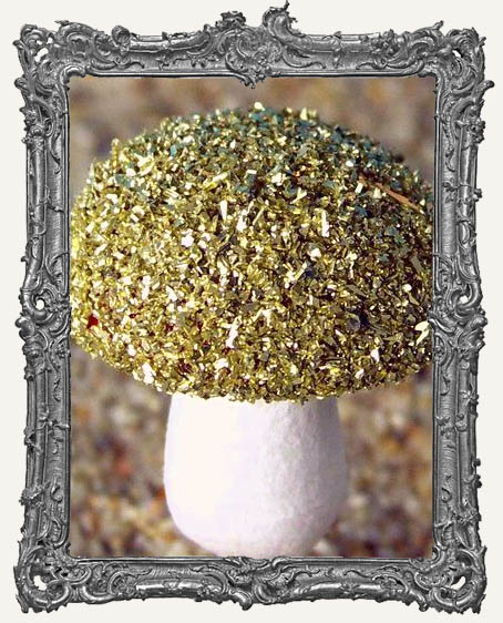 Gold German Glass Glitter 1 oz.