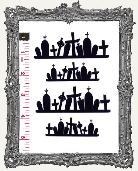 Gravestone ATC Border Overlay PACK OF 4