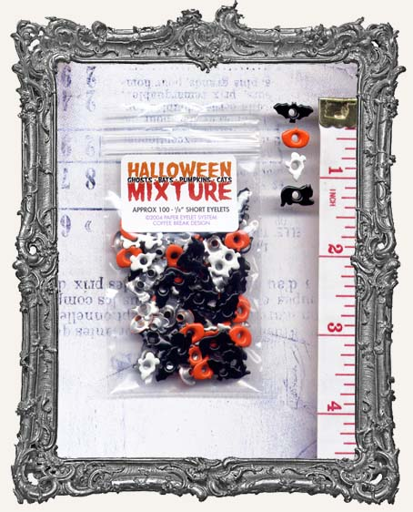 """E-Z Set Eyelets - 1/8"""" Halloween Mixture"""