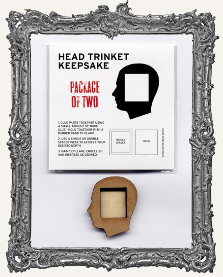 Head Trinket Keepsake Shrine Kit PACK OF 2