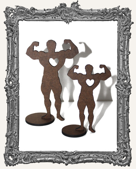 Stand Ups - Circus Muscle Man WITH HEART