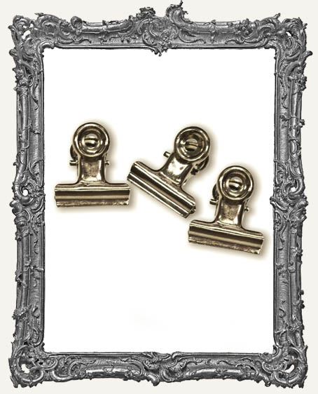 Hinge Clips by Tim Holtz PACK OF 15
