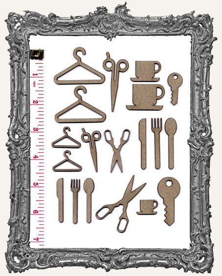 Collage Cut-Outs Accessory Line - Household Items