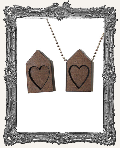 HEART House Shrine Pendant PACK OF 2