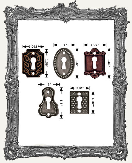 Keyholes PACK OF 5