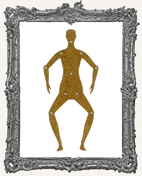 Basic Stencil Board Manikin Articulated Art Doll - Large Female