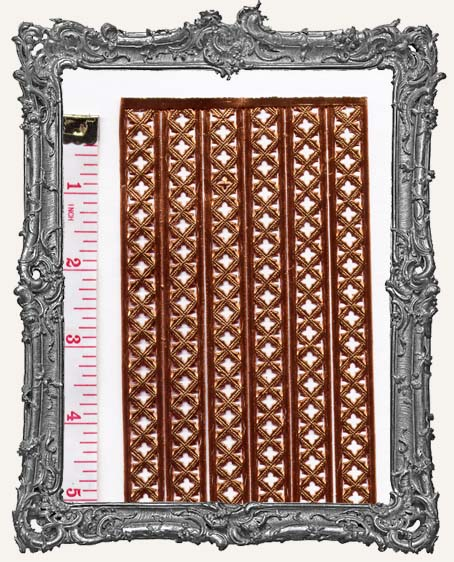 German Dresden Border  MEDIEVAL COPPER 6 Strips
