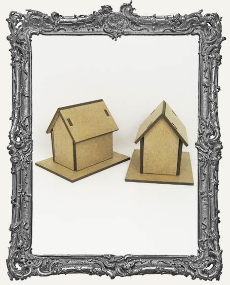 2 Medium Chipboard Houses Kit