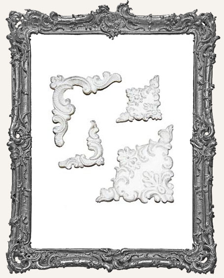 Shabby Vintage Reproduction Resin - Garnish Applique