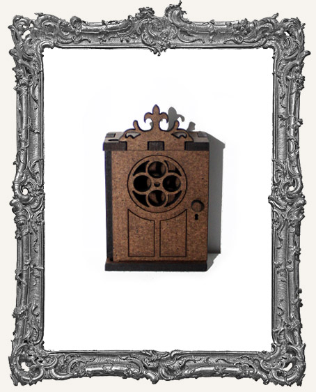 Mini Parisian Door Shrine Kit With Necklace Option