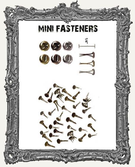 Mini Fasteners - Tim Holtz Pack of 99