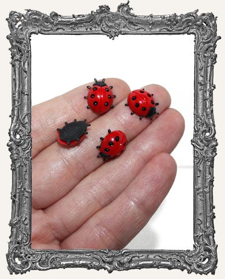 Mini Lady Bugs - Set of 4