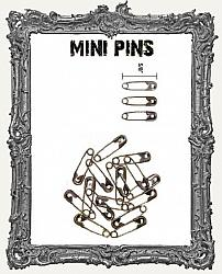Tim Holtz - Idea-ology - Mini Metal Safety Pins 48 per Pkg