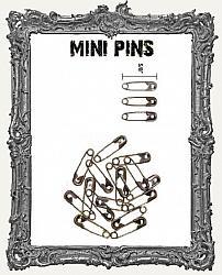 Tim Holtz - Idea-ology - Mini Metal Safety Pins 48 per Pkg