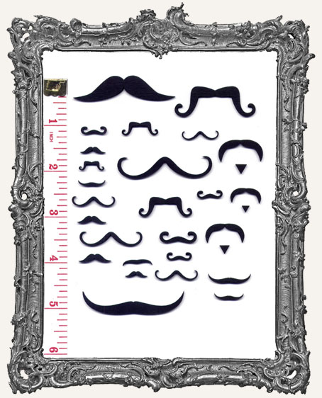Collage Cut-Outs Accessory Line - Mustaches