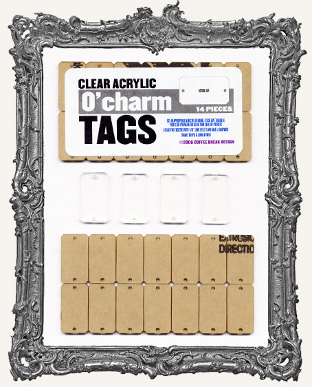 Clear Acrylic Tags - O' CHARMS