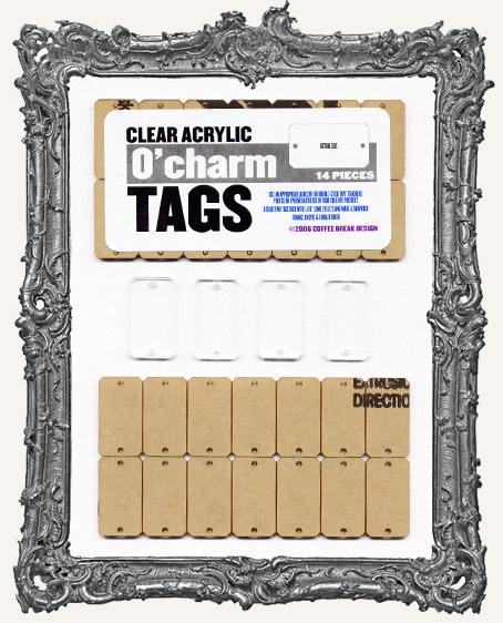 Clear Acrylic Tags - O' CHARMS