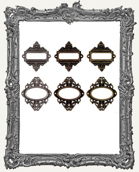 Ornate Plates - Tim Holtz Pack of 6