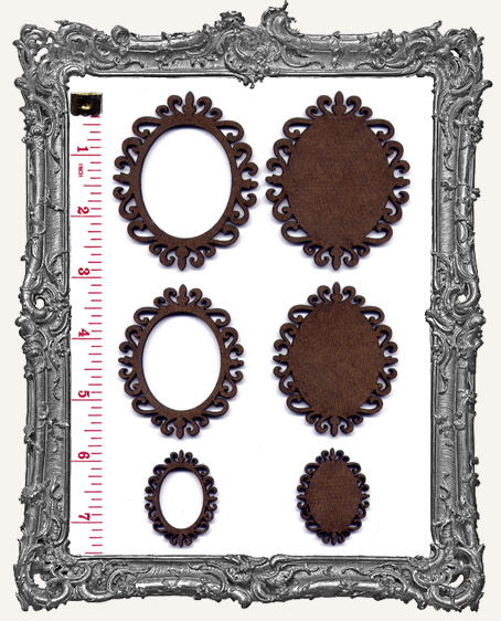 Oval Cameo Frame Sets - You Pick