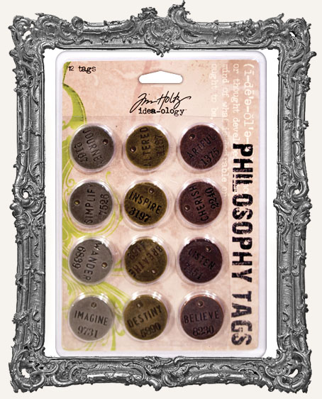 Philosophy Tags PACK OF 12