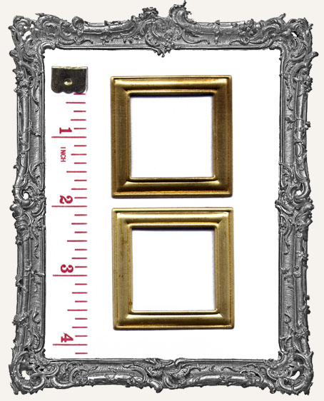 Brass Picture Frame - Set of 2