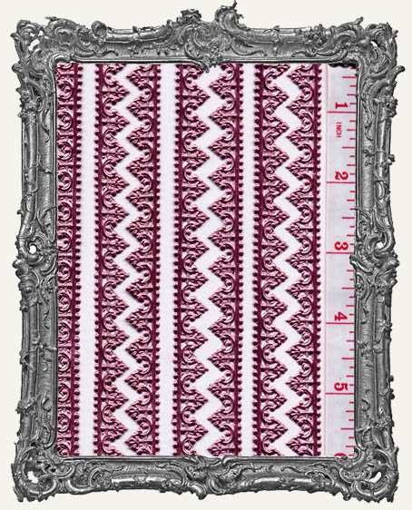 German Dresden Border Baroque PINK 8 Strips
