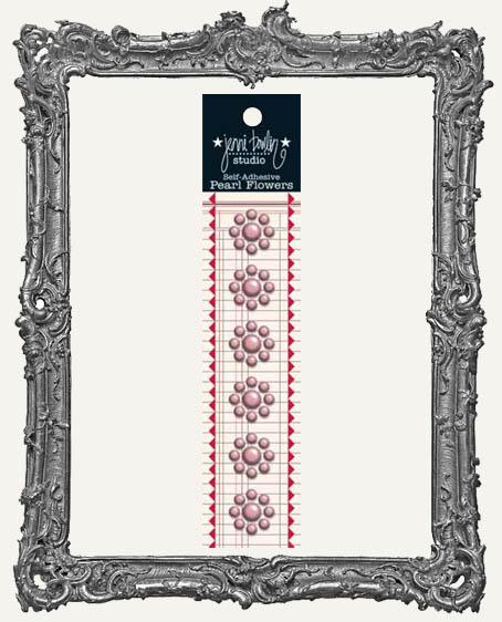 Jenni Bowlin Studio Pearl Flowers - Pink Grapefruit