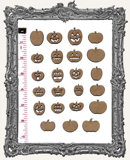 Pumpkin and Jack-O-Lantern Cut-Outs