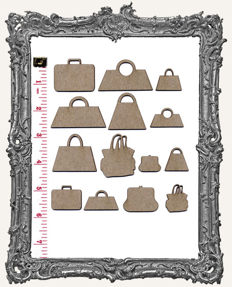 Collage Cut-Outs Accessory Line - Purses and Suitcases