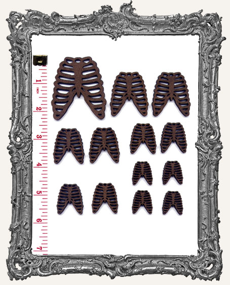 Ribcage Cut-Outs - 20 Pieces