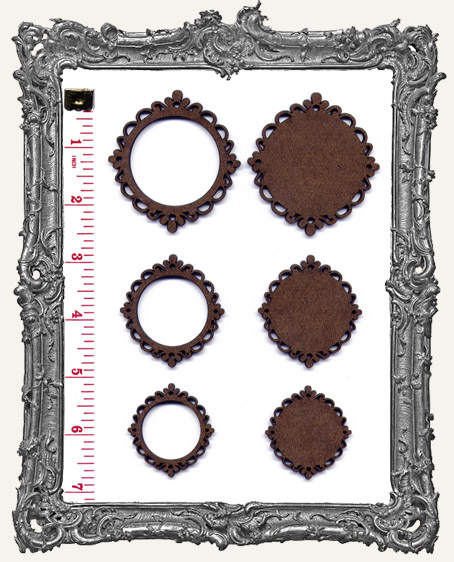 Circle Cameo Frame Sets - You Pick