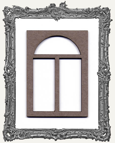 ATC Frame - 3 Pane Rounded Window