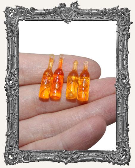 Mini Rum Bottles - Set of 4