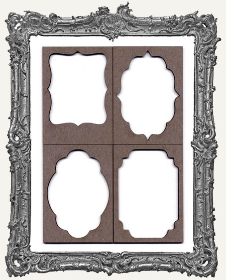 ATC Frame - Set of 4 FANCY FRAMES