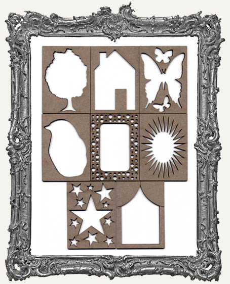 ATC Frame - Set of 8 FUN SHAPES
