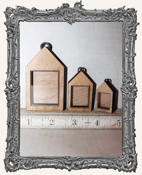 Shadow Box Shrine Kit - House