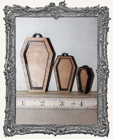 Shadow Box Shrine Kit - Coffin