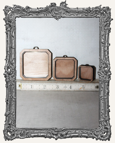 Shadow Box Shrine Kit - Square Flat Corners