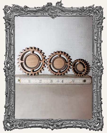 Shadow Box Shrine Kit - Steampunk Gear