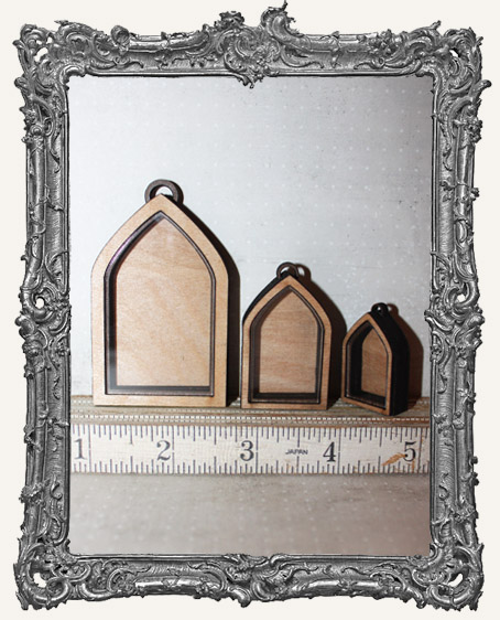 Shadow Box Shrine Kit - Gothic Arch