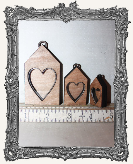 Shadow Box Shrine Kit - Heart House